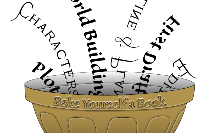 How To Bake Yourself A Book Logo